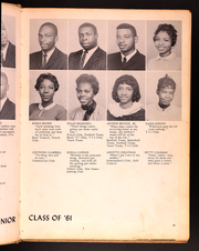 Page 15, 1961 Edition, Carver High School - Tiger Yearbook (Spartanburg, SC) online yearbook collection