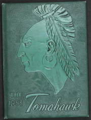 1953 Edition, Pacolet High School - Tomahawk Yearbook (Pacolet, SC)