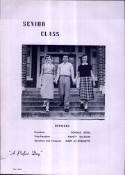 Page 12, 1954 Edition, Pacolet High School - Tomahawk Yearbook (Pacolet, SC) online yearbook collection