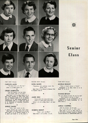 Page 13, 1954 Edition, Pacolet High School - Tomahawk Yearbook (Pacolet, SC) online yearbook collection