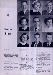 Page 14, 1954 Edition, Pacolet High School - Tomahawk Yearbook (Pacolet, SC) online yearbook collection