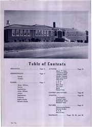 Page 6, 1954 Edition, Pacolet High School - Tomahawk Yearbook (Pacolet, SC) online yearbook collection