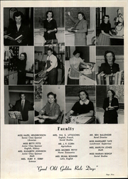Page 9, 1954 Edition, Pacolet High School - Tomahawk Yearbook (Pacolet, SC) online yearbook collection