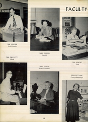 Page 14, 1958 Edition, University High School - Bantam Yearbook (Columbia, SC) online yearbook collection