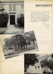 Page 6, 1958 Edition, University High School - Bantam Yearbook (Columbia, SC) online yearbook collection