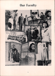 Page 12, 1949 Edition, Voorhees High School - Tiger Yearbook (Denmark, SC) online yearbook collection