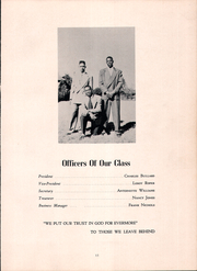 Page 15, 1949 Edition, Voorhees High School - Tiger Yearbook (Denmark, SC) online yearbook collection