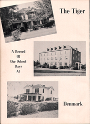 Page 6, 1949 Edition, Voorhees High School - Tiger Yearbook (Denmark, SC) online yearbook collection