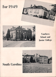 Page 7, 1949 Edition, Voorhees High School - Tiger Yearbook (Denmark, SC) online yearbook collection