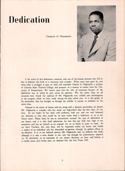 Page 9, 1949 Edition, Voorhees High School - Tiger Yearbook (Denmark, SC) online yearbook collection