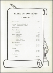 Page 7, 1953 Edition, Simpsonville High School - Le Souvenir Yearbook (Simpsonville, SC) online yearbook collection