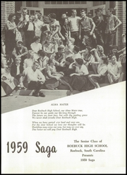 Page 5, 1959 Edition, Roebuck High School - Saga Yearbook (Roebuck, SC) online yearbook collection