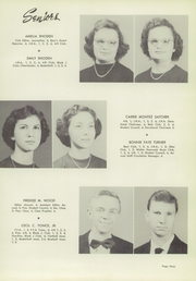 Page 13, 1954 Edition, Johnston High School - Black and Gold Yearbook (Johnston, SC) online yearbook collection