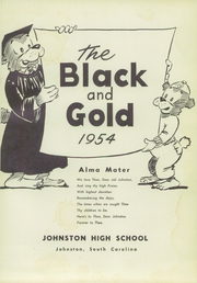 Page 5, 1954 Edition, Johnston High School - Black and Gold Yearbook (Johnston, SC) online yearbook collection