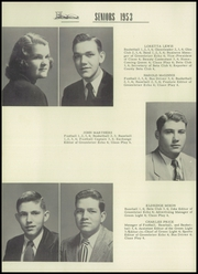 Page 10, 1953 Edition, Greenbrier High School - Green Light Yearbook (Winnsboro, SC) online yearbook collection