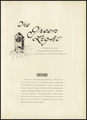 Page 5, 1953 Edition, Greenbrier High School - Green Light Yearbook (Winnsboro, SC) online yearbook collection