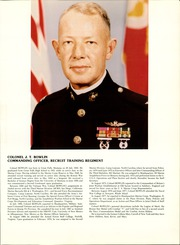 Page 9, 1981 Edition, US Marine Corps Recruit Depot - Yearbook (Parris Island, SC) online yearbook collection