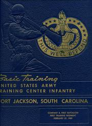 Page 1, 1959 Edition, US Army Training Center - Yearbook (Fort Jackson, SC) online yearbook collection