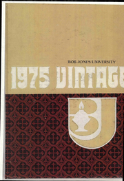 1975 Edition, Bob Jones University - Vintage Yearbook (Greenville, SC)