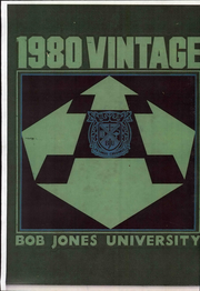 1980 Edition, Bob Jones University - Vintage Yearbook (Greenville, SC)