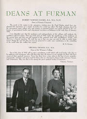 Page 17, 1942 Edition, Furman University - Bonhomie Yearbook (Greenville, SC) online yearbook collection