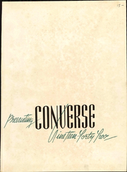Page 7, 1942 Edition, Converse College - Ys and Other Ys Yearbook (Spartanburg, SC) online yearbook collection