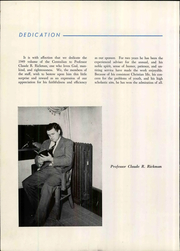 Page 12, 1949 Edition, Central Wesleyan College - Centralian Yearbook (Central, SC) online yearbook collection