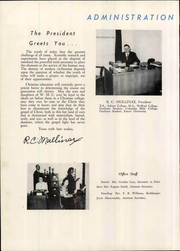 Page 16, 1949 Edition, Central Wesleyan College - Centralian Yearbook (Central, SC) online yearbook collection