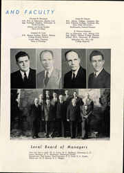 Page 17, 1949 Edition, Central Wesleyan College - Centralian Yearbook (Central, SC) online yearbook collection