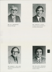 Page 9, 1977 Edition, South Carolina School for the Deaf and the Blind - Hornet Yearbook (Spartanburg, SC) online yearbook collection