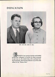 Page 9, 1956 Edition, Holmes Bible College - Echo Yearbook (Greenville, SC) online yearbook collection