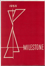 1959 Edition, Coker College - Milestone Yearbook (Hartsville, SC)