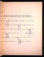 Page 13, 1943 Edition, Winthrop University - Tatler Yearbook (Rock Hill, SC) online yearbook collection
