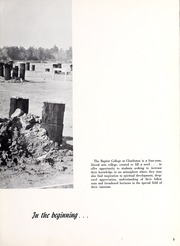 Page 7, 1966 Edition, Baptist College at Charleston - Cutlass Yearbook (Charleston, SC) online yearbook collection
