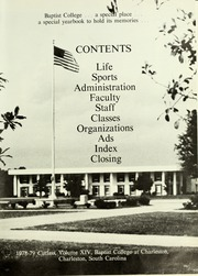 Page 7, 1979 Edition, Baptist College at Charleston - Cutlass Yearbook (Charleston, SC) online yearbook collection
