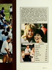 Page 7, 1985 Edition, Baptist College at Charleston - Cutlass Yearbook (Charleston, SC) online yearbook collection