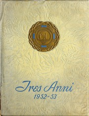 Page 1, 1953 Edition, Medical University of South Carolina - Tres Anni Yearbook (Charleston, SC) online yearbook collection
