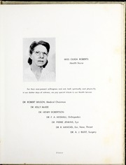 Page 17, 1953 Edition, Medical University of South Carolina - Tres Anni Yearbook (Charleston, SC) online yearbook collection