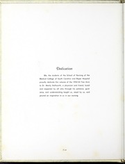 Page 8, 1953 Edition, Medical University of South Carolina - Tres Anni Yearbook (Charleston, SC) online yearbook collection