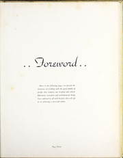 Page 7, 1954 Edition, Medical University of South Carolina - Tres Anni Yearbook (Charleston, SC) online yearbook collection