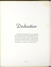 Page 8, 1954 Edition, Medical University of South Carolina - Tres Anni Yearbook (Charleston, SC) online yearbook collection