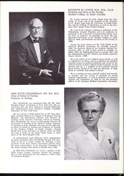 Page 14, 1959 Edition, Medical University of South Carolina - Tres Anni Yearbook (Charleston, SC) online yearbook collection