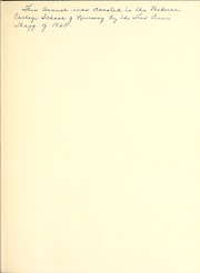Page 3, 1960 Edition, Medical University of South Carolina - Tres Anni Yearbook (Charleston, SC) online yearbook collection
