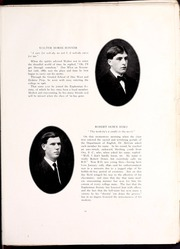 Page 19, 1910 Edition, Erskine College - Arrow Yearbook (Due West, SC) online yearbook collection