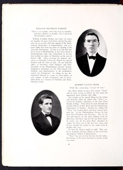 Page 20, 1910 Edition, Erskine College - Arrow Yearbook (Due West, SC) online yearbook collection
