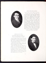 Page 22, 1910 Edition, Erskine College - Arrow Yearbook (Due West, SC) online yearbook collection
