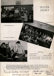 Page 13, 1946 Edition, Anderson High School - Tidings Yearbook (Anderson, SC) online yearbook collection