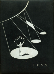1955 Edition, Anderson High School - Tidings Yearbook (Anderson, SC)