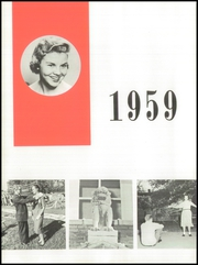 Page 8, 1959 Edition, Anderson High School - Tidings Yearbook (Anderson, SC) online yearbook collection