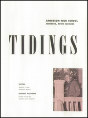 Page 9, 1959 Edition, Anderson High School - Tidings Yearbook (Anderson, SC) online yearbook collection
